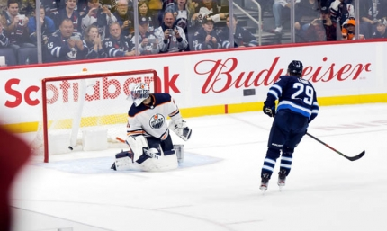 Laine fires game winner in Shootout as Jets snap three game losing skid